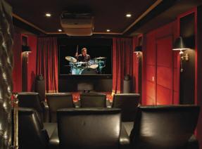 Sala compartida o dedicada - Sala cine en casa ...